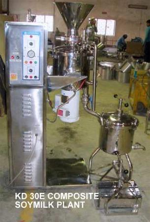 KD 30E Composite Soymilk Plant