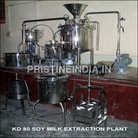 Kd 80 Soy Milk Extraction Plant