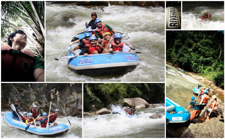 Half Day Adventure White Water Rafting on Sungai Selangor