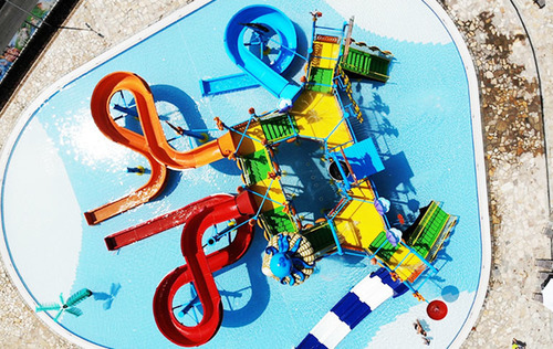 12 Platform Water Play System