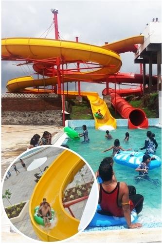 Open Float Water Slide