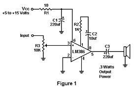 IC Audio Amplifier