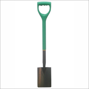 Carbon Steel Border Spade with PP Shaft