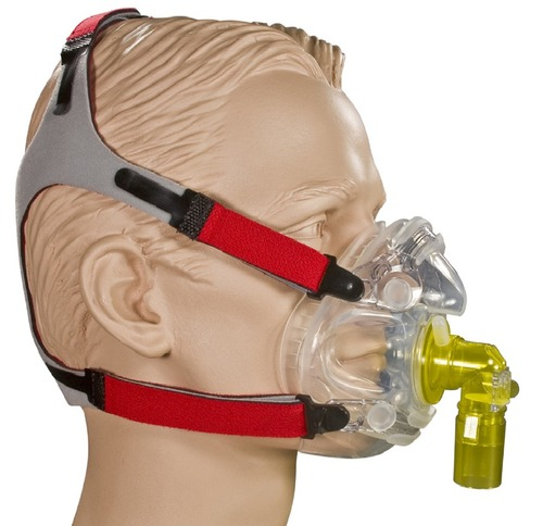 ORO-NASAL BiLevel with AAV & No Vents REUSABLE
