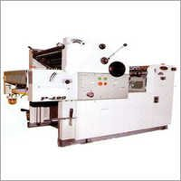 Single Colour Paper Printing Machine