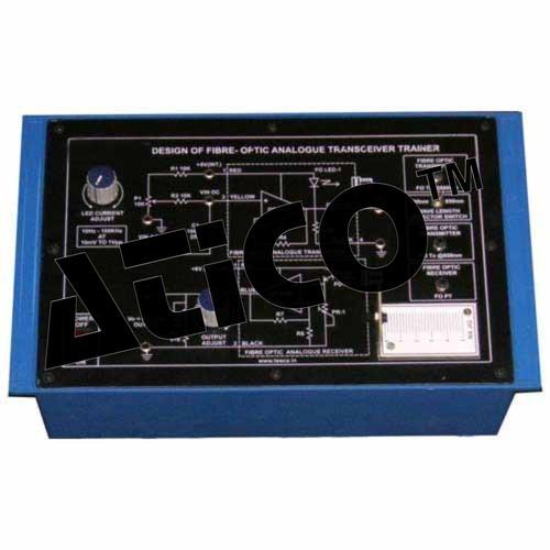 Advanced Fibre-Optic Analogue Transceiver Trainer