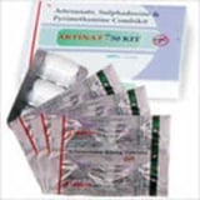 Artesunate sulphadoxin pyrimethamine kit