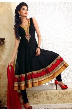Black Replica Salwar Suits