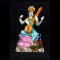 Polyresin Saraswati Statue