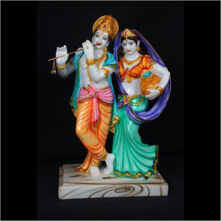 Polyresin Radha Krishna Statue