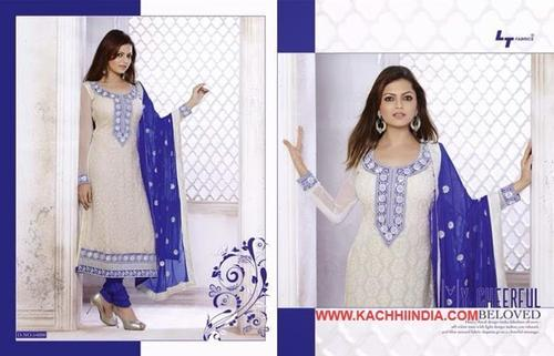 Embroidered Fancy Salwar Suit