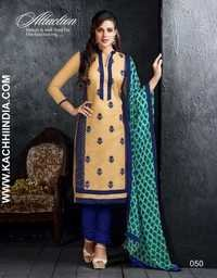 Chanderi Cotton Dress Material