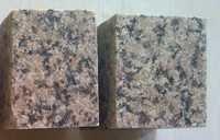 Tan brown granite cobble stone