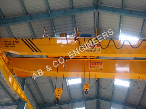 Double Girder EOT Crane with 2 Hoist