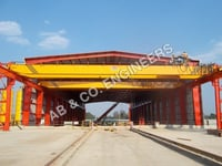 EOT Crane with Remote Control