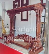 Carved Teak Swings