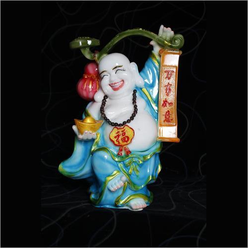 Fiber Decorative Laughing Buddha