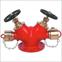 Double Headed Fire Hydrant Valve