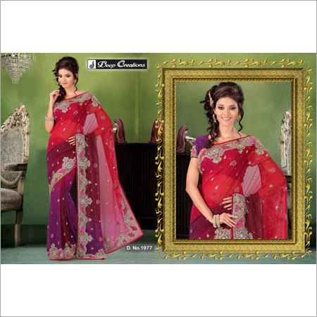 Embroidered Women Saree