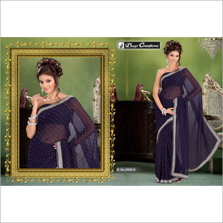 Party Wear Beaded Sarees