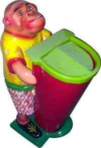 Small monkey Dustbin