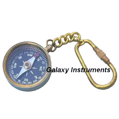 Antique Compass Key Chain