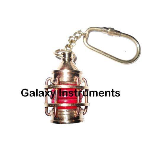 Brass Lantern Key Chain