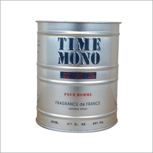 Perfume Tin Container