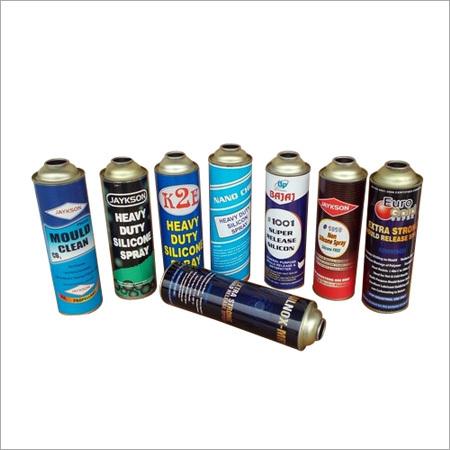 Lubricant Spray Aerosol Can