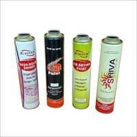 Aerosol Spray Paint Container