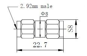 2.92mm(m) Connector