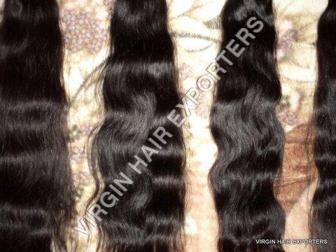 Brown Curly Human Hair