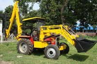 Coal Backhoe Loader