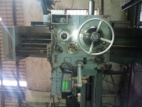 USED HORIZONTAL BORING MACHINE TOS MAKE