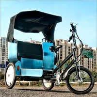 Solar Powered Rickshaw