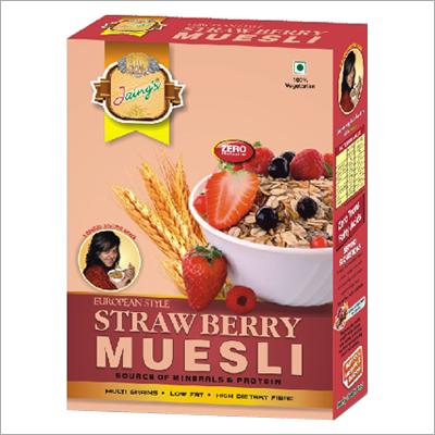Fresh Strawberry Muesli