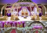 Elephant Carved Wedding Mandap