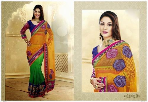 Indian Designer Wedding Sarees
