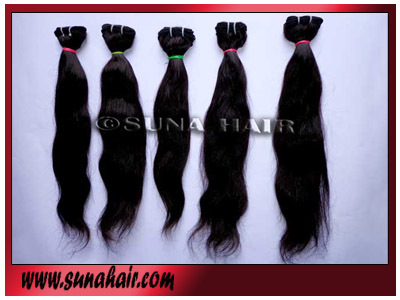 peruvian original special quality natural human hair extension in india