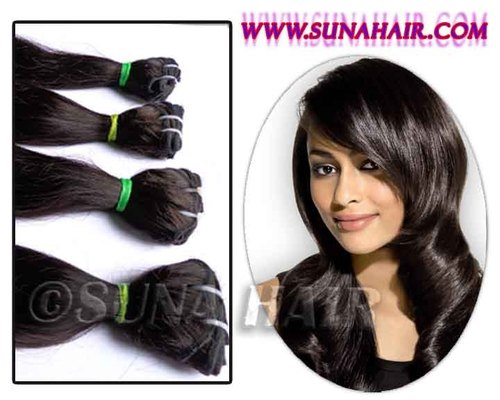 Brazilian virgin remy natural body weave 100% good quality human hair