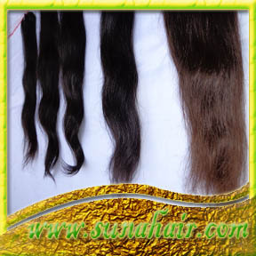 Reasonable price indian natural high quality human hair extension