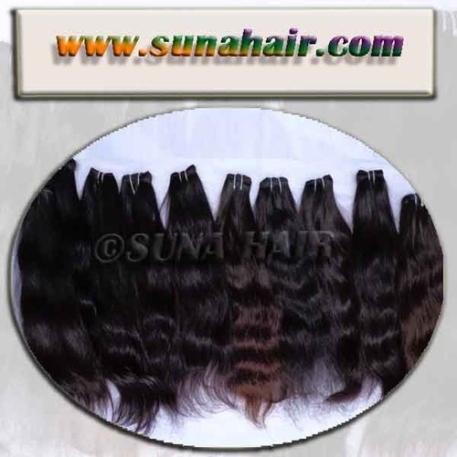Lovely high quality indian natural top selling human hair extension