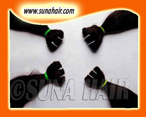 No tangle indian natural unpricessed silky straight human hair