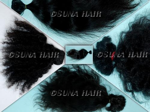 Brazilian 5A Grade Loose Wave Virgin Human Hair ex