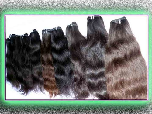 machine weft best quality weave remy human hair ex