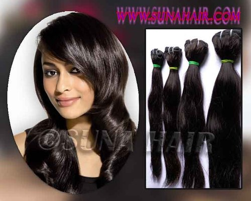 100% silky straight wholesale grade AAAA hair ex