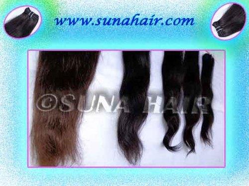 A1 beautful romantic look natural human hair ex
