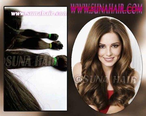 Brazilian charming natural remy human hair ex