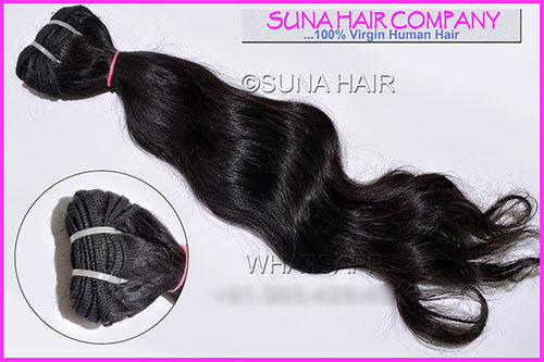 Indian wholesale price natural curly human hair
