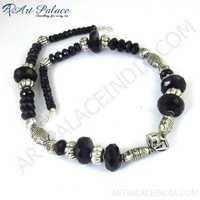 Hot Black Onyx German Silver GemStone Jewelry
